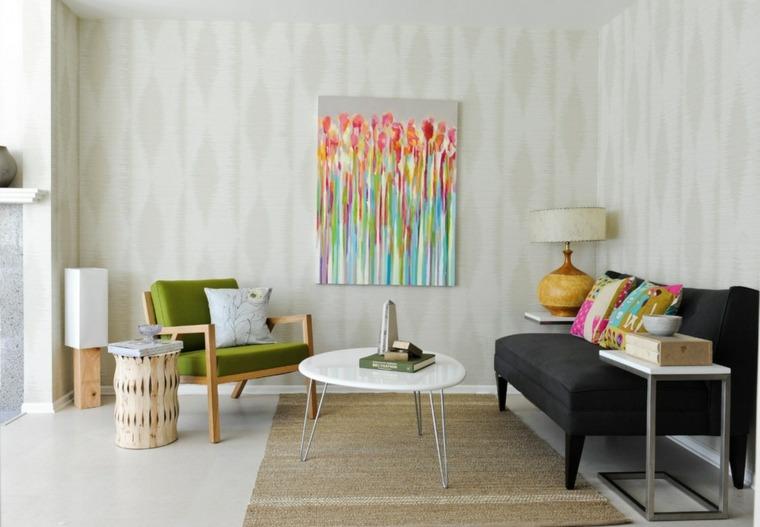 Estilo vintage para la sala de estar el estilo de los for Muebles estilo vintage