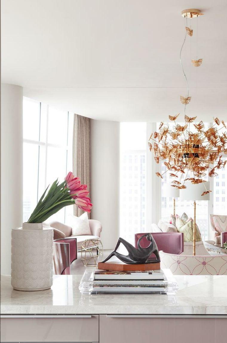 originales elementos decorativos salon