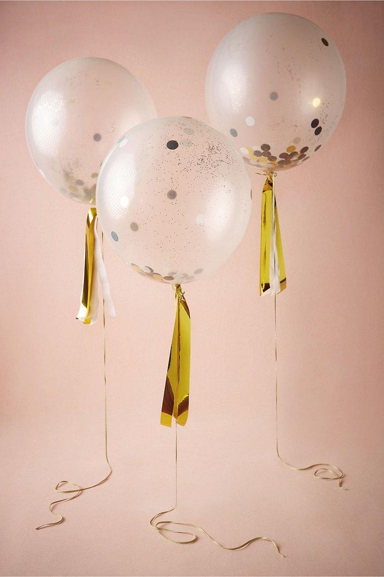 originales globos transparentes fiesta