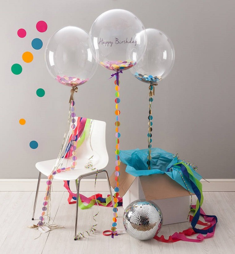 originales globos de fiesta
