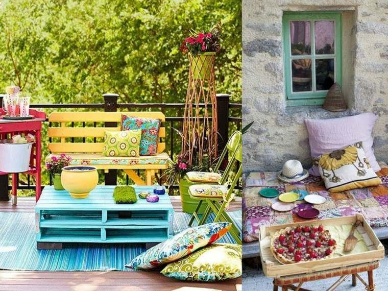 ideas de decoracin para terrazas chill out con palets
