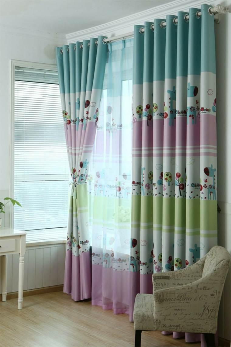 original diseño cortinas dormitorio
