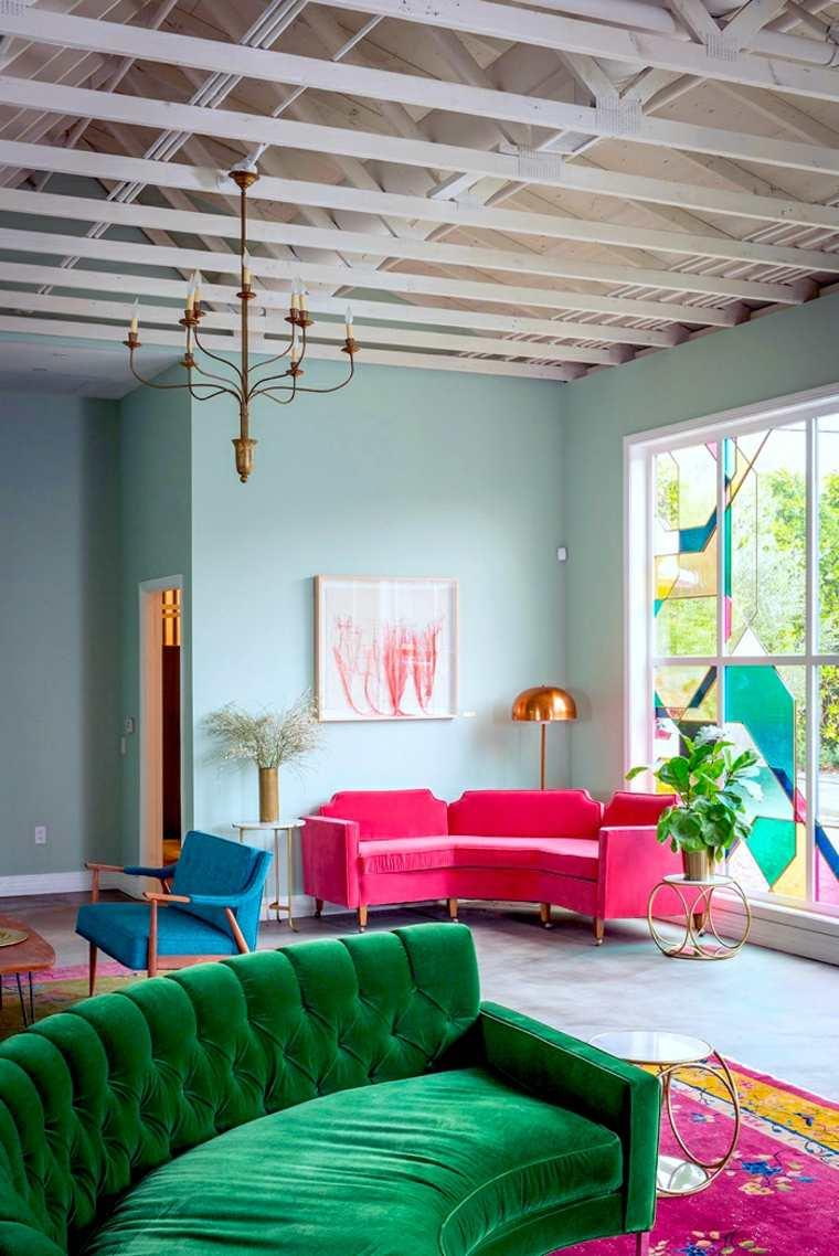 original decoracion colores salon