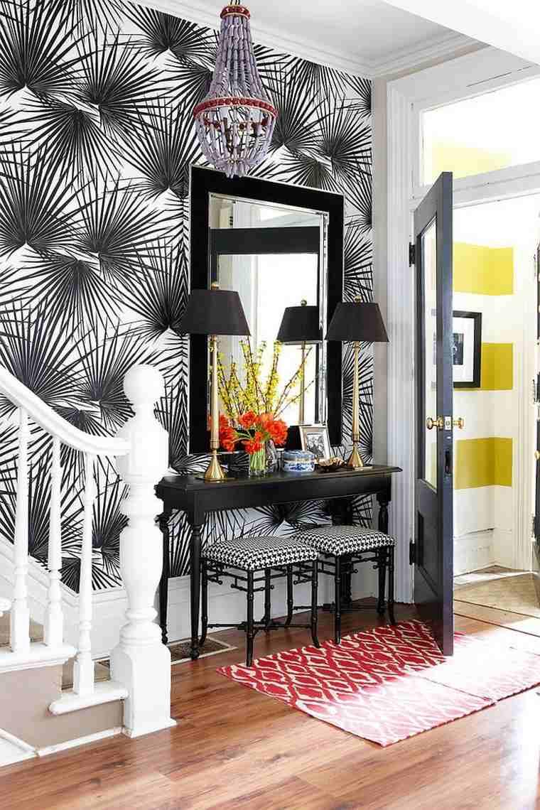 Papel pintado para pasillos dise os originales para cada for Papel pared diseno