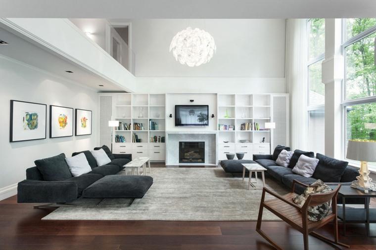 sala estar moderna