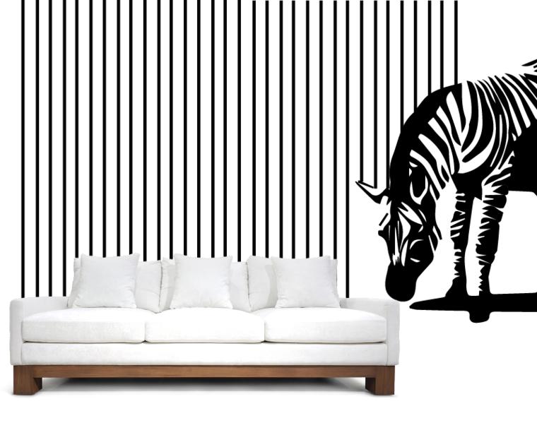 Vinilos decorativos economicos para las paredes de tu hogar for Vinilo decorativo habitacion