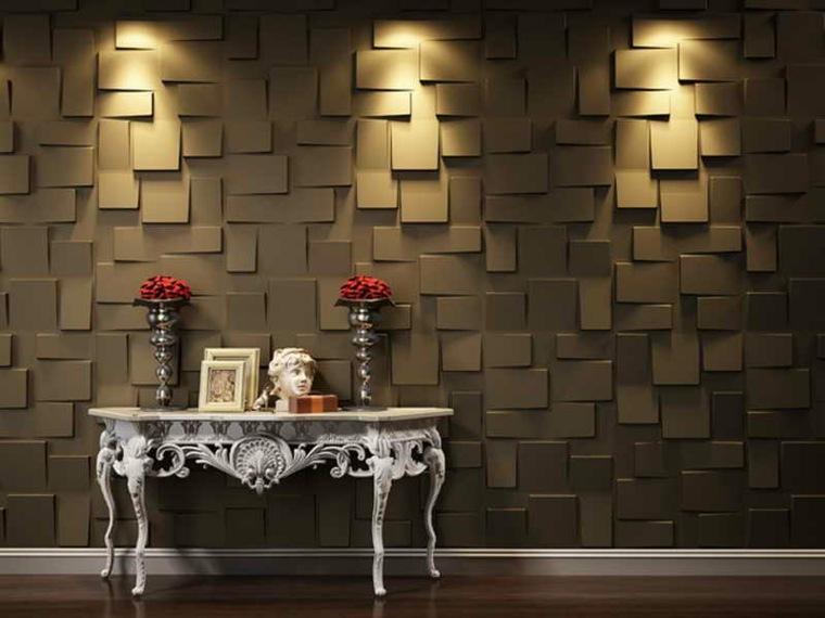 paneles para paredes para decorar los interiores