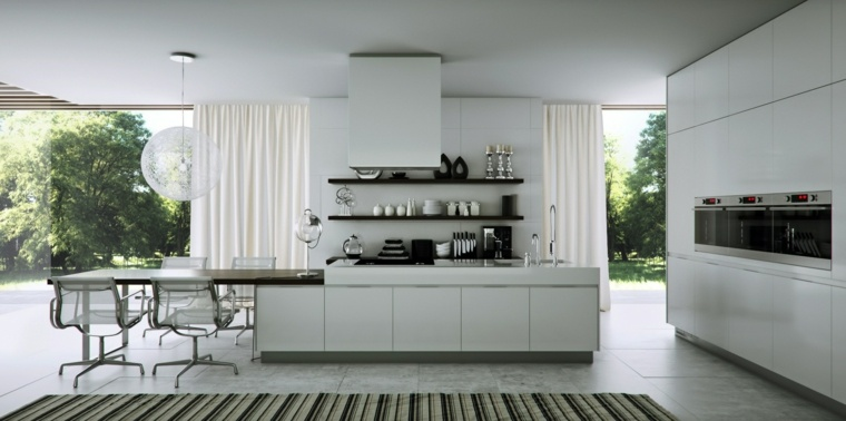 pared fondo estilos casa moderna ideas