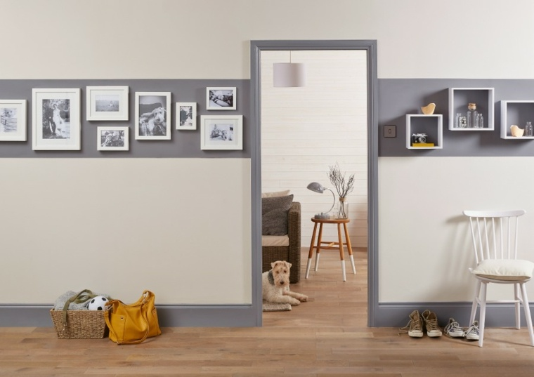 como pintar un pasillo m s ideas y colores interesantes. Black Bedroom Furniture Sets. Home Design Ideas