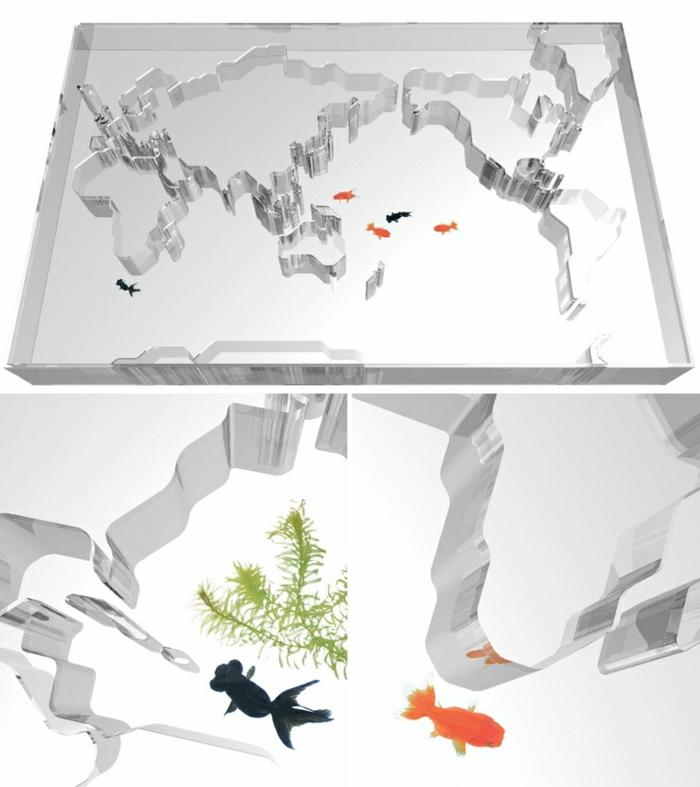 peces especial acuario mesa ideas