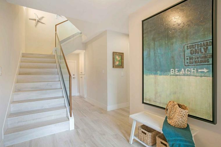 Pintar pasillos con t cnicas simples que logran grandes for Colores de moda para pintar pasillos