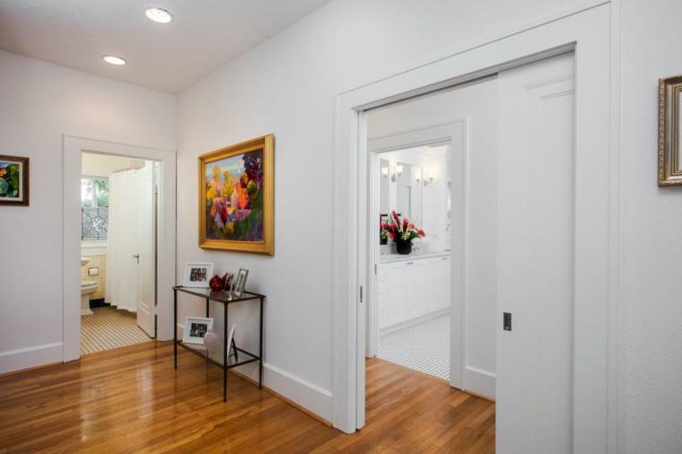 pintar pasillos hacia baño vintage suelos