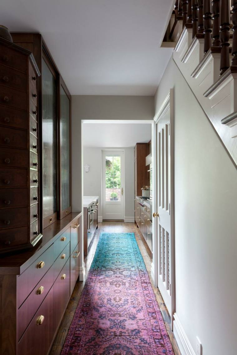 pintar pasillos neutral alfombra suelos