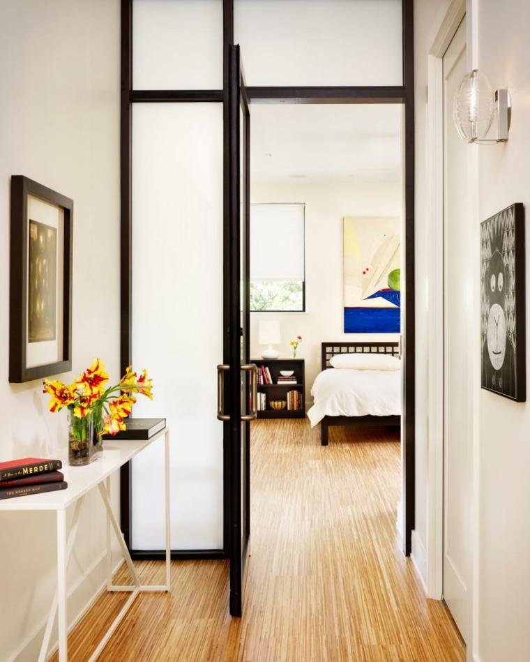 pintar pasillos puertas interiores dormitorio