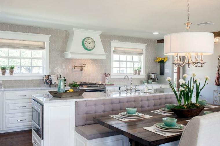 populares estores estilos cocinas muebles abiertas