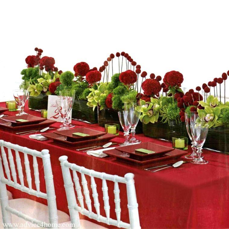 preparar mesa romántica casa