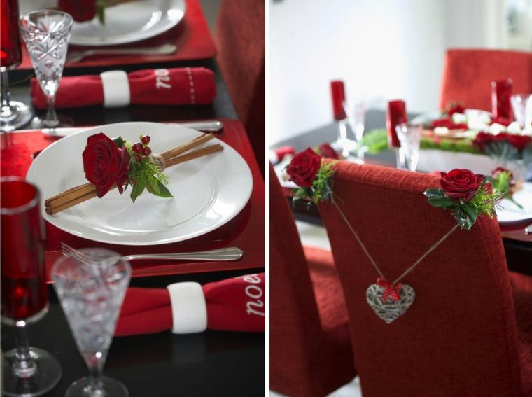 preparar mesa romántica