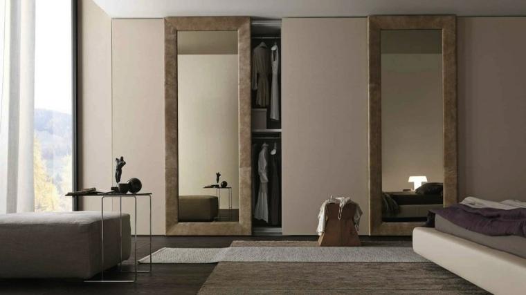 saoluciones espejos pared ladrillo especiales modernas