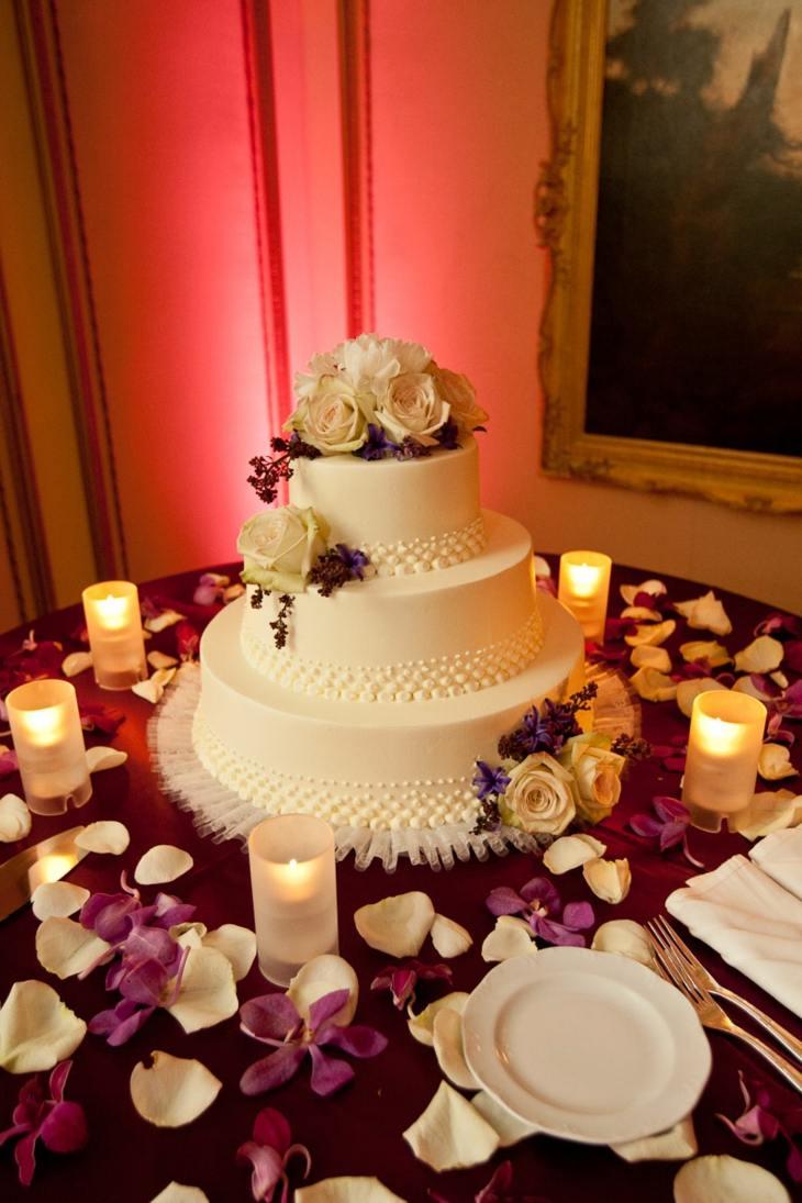purpura especial flores velas salones