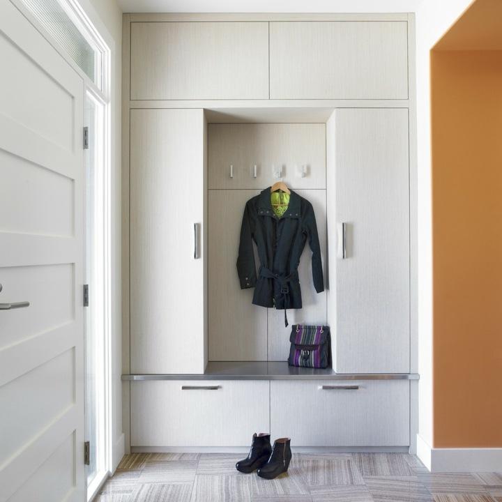 Recibidores armarios y otras formas funcionales de - Muebles recibidores de diseno ...