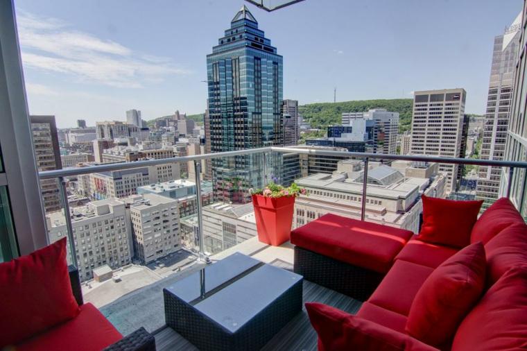 rojo muebles ciudades conceptos energia