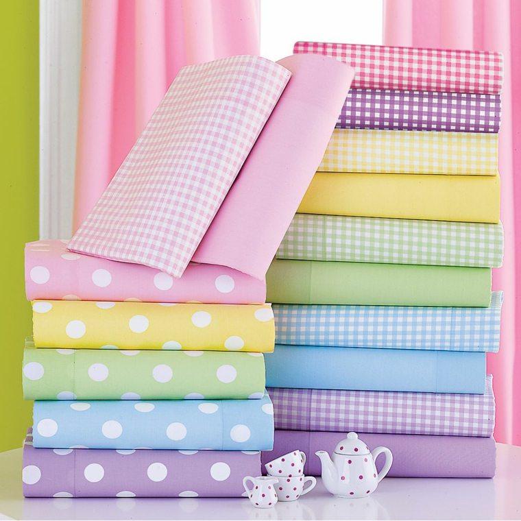 sábanas infantiles colores