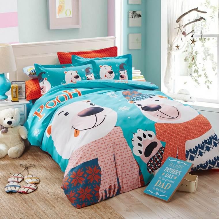 sábanas infantiles decoración interiores