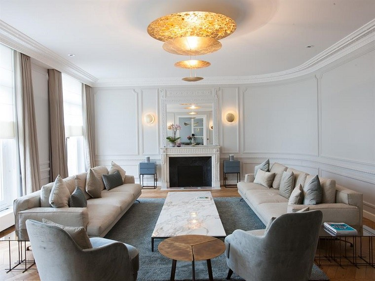salon colores muebles paredes cortinas claros ideas