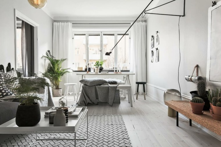 salon comedor diseno escandinavo Scandinavian Homes ideas