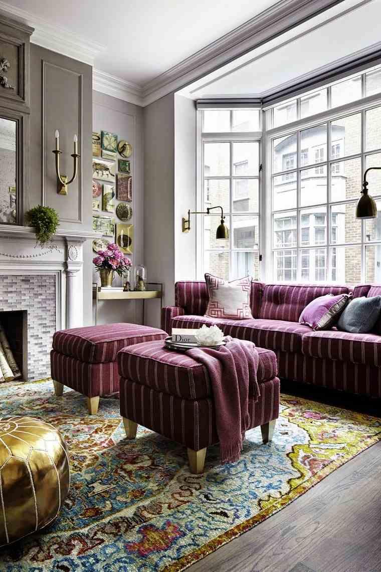 salon diseno colores bonitos texturas ornamentos detalles ideas