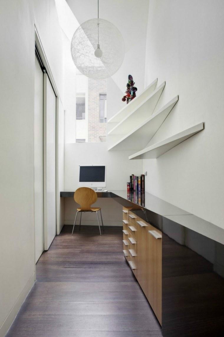 salon estudios blanco muebles colores