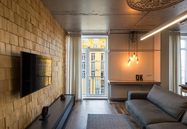 salones confort luces calidas paredes