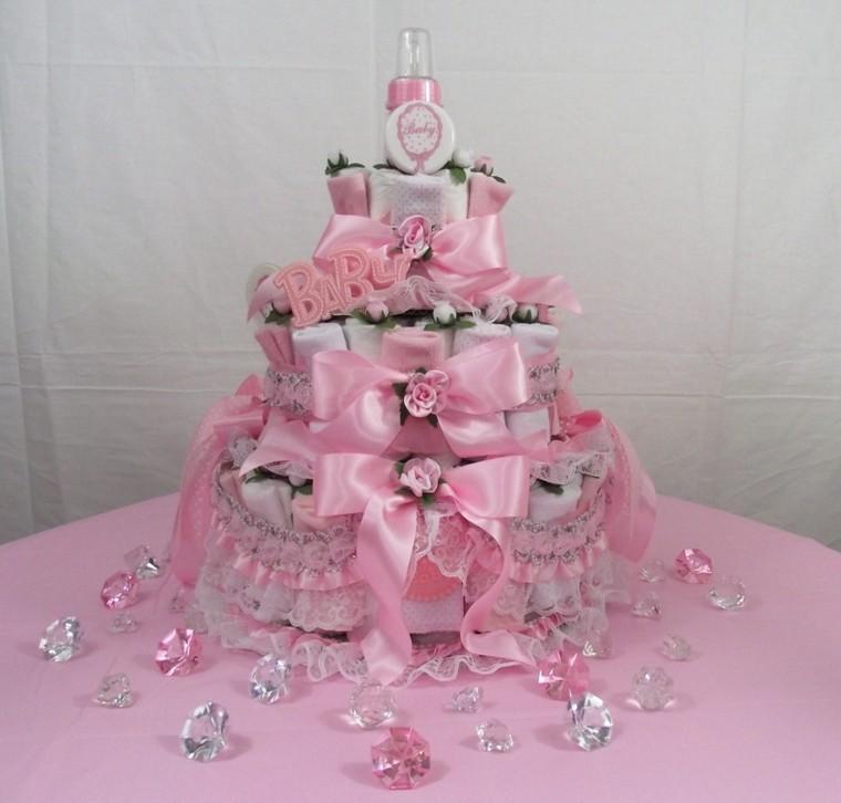 tarta fiesta ducha bebé