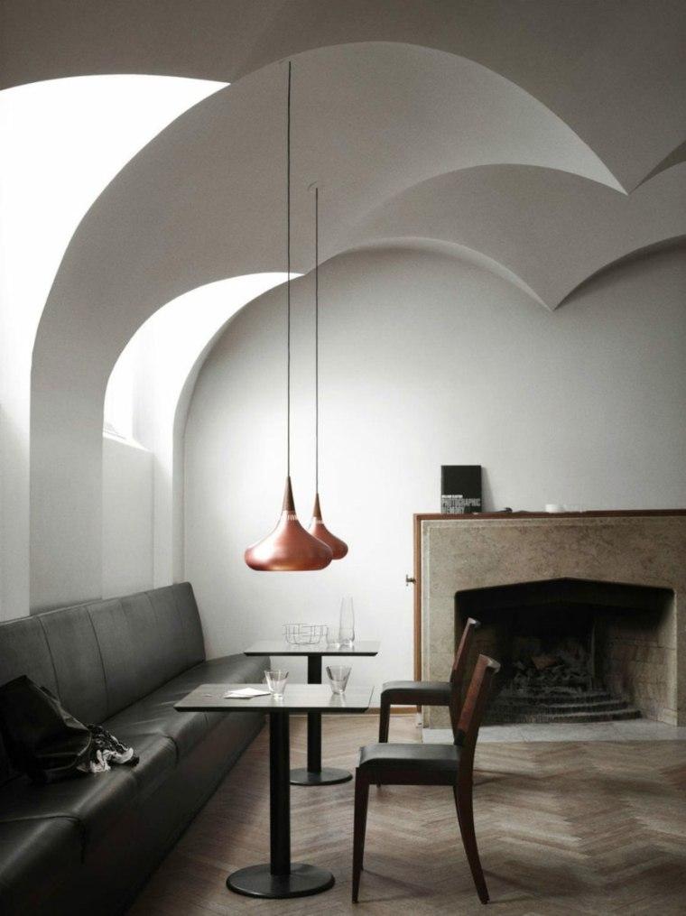 techo curvado especiales muebles salones