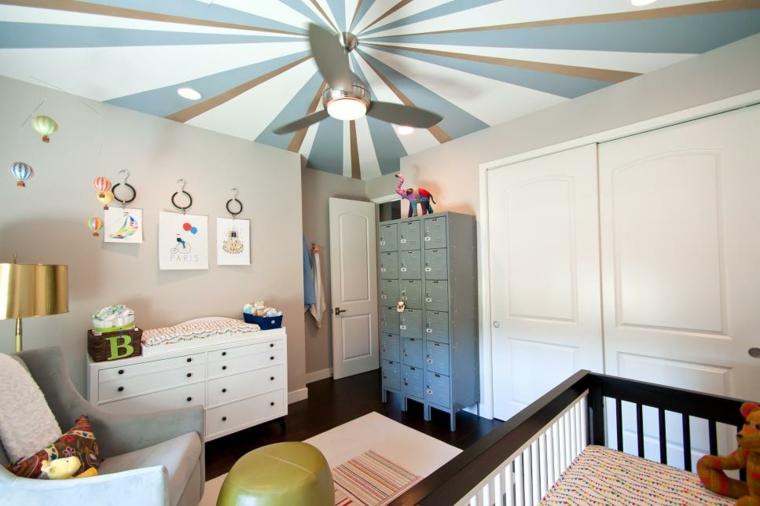 techo efectos colores muebles maderas