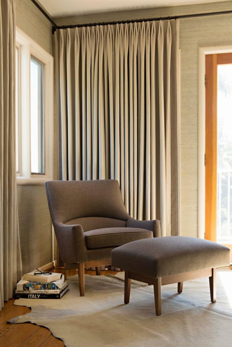 Telas para cortinas de salon c mo seleccionar la adecuada for Cortinas para salon