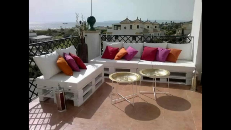 terraza chill out muebles palet