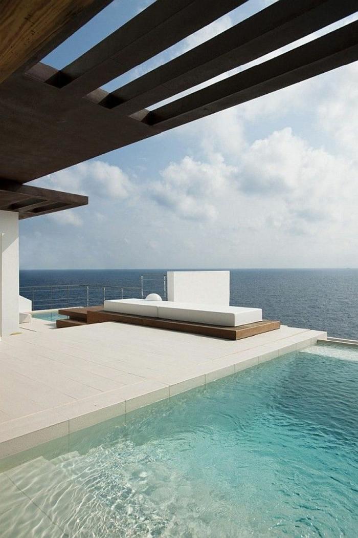 terraza diseño minimalista colores ambientes soleadores