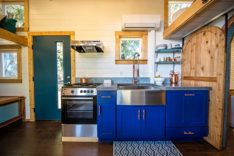 tiny adventure cocina color azul