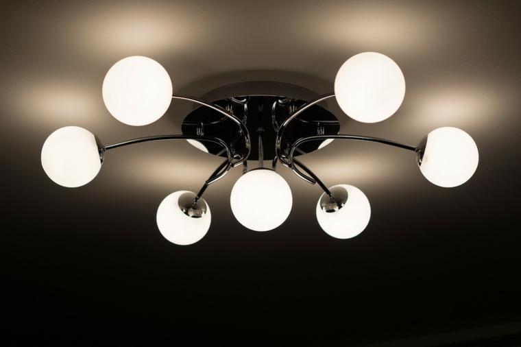 tipos de lámparas modernas decorar