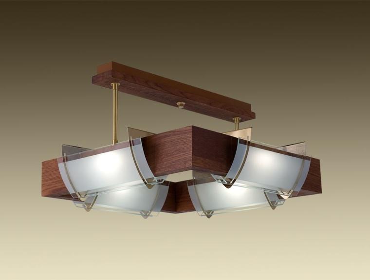 tipos de lámparas techo