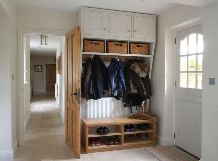tradicional espacio canastas mueble cristales