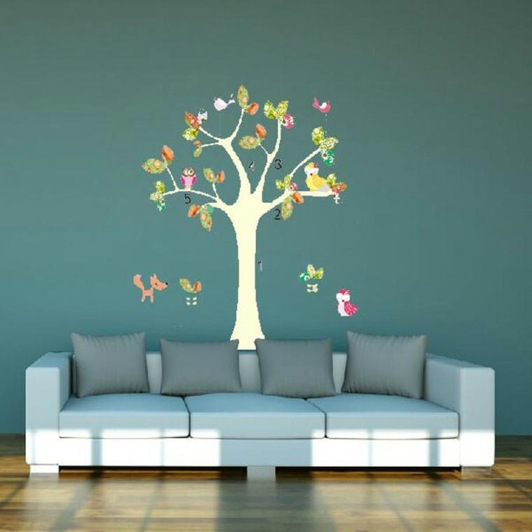 Vinilos baratos pared para la decoraci n de los interiores - Pegatinas de pared baratas ...