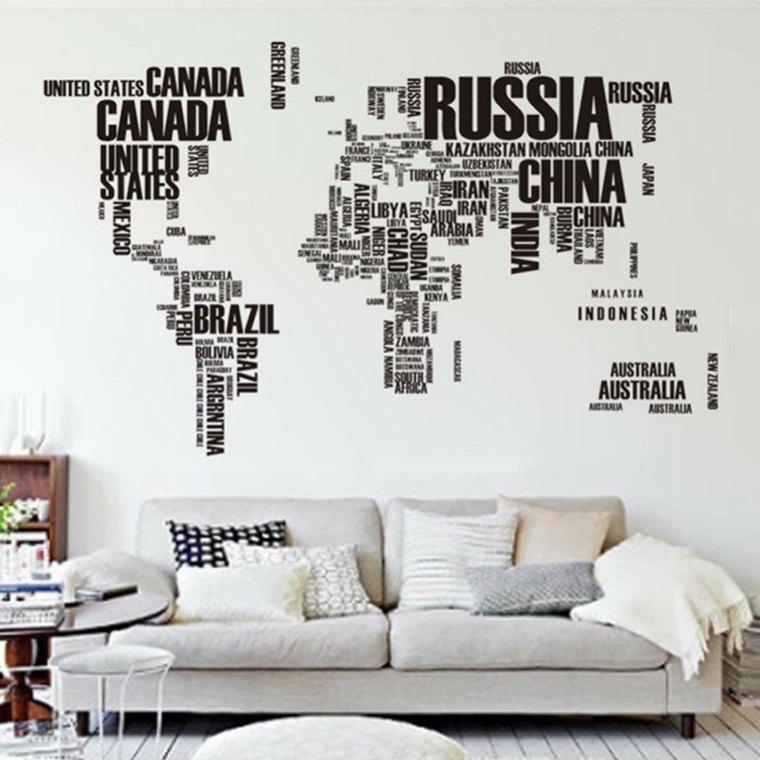 Vinilos decorativos baratos para decorar las paredes for Decorativos pared