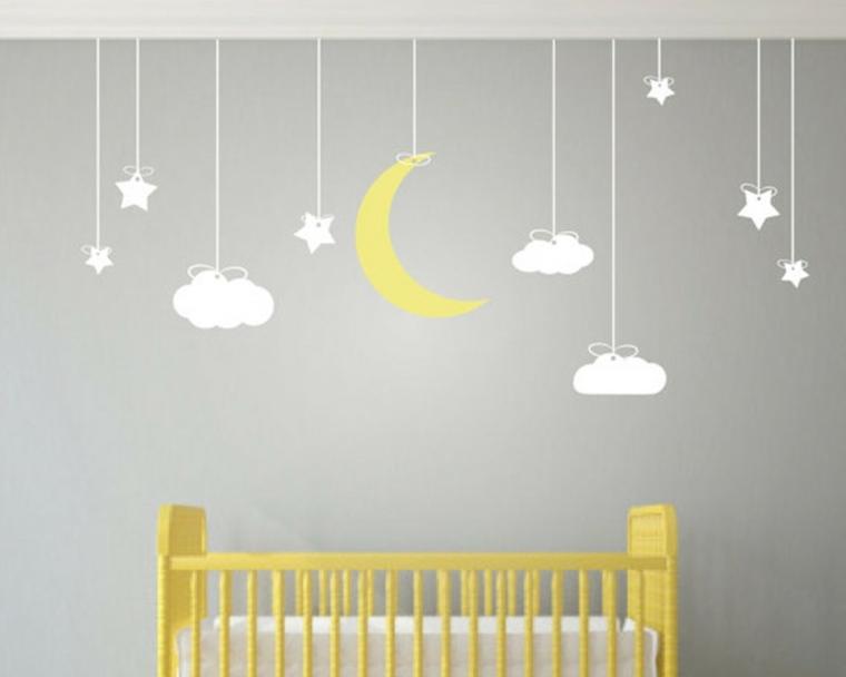 Vinilos decorativos baratos para decorar las paredes for Pegatinas decoracion bebe