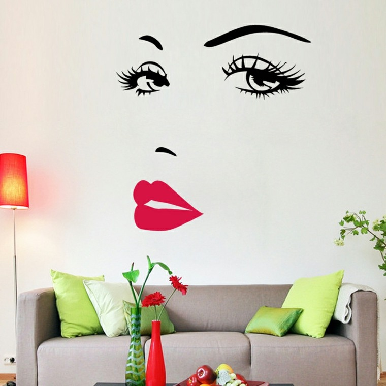Vinilos decorativos economicos para las paredes de tu hogar for Vinilos originales pared