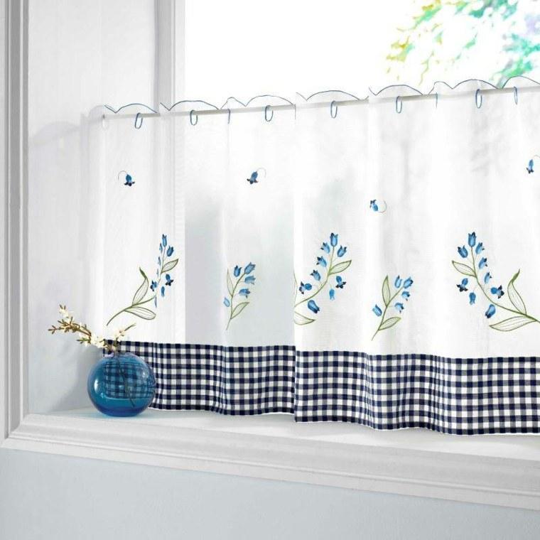 Visillos cocina para decorar los interiores modernos - Como hacer visillos ...