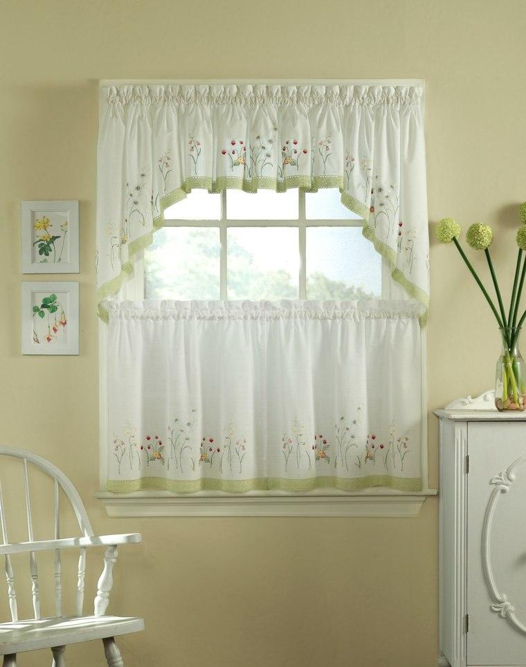 Visillos cocina para decorar los interiores modernos for Adornos modernos para decorar