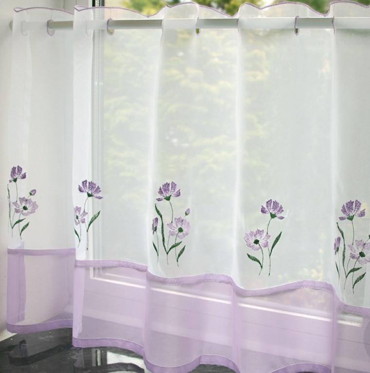 Visillos cocina para decorar los interiores modernos - Visillos de cocina ...