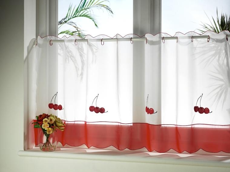 Visillos cocina para decorar los interiores modernos - Visillos para cocina ...